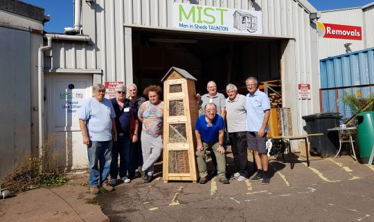 The Men in Sheds crew